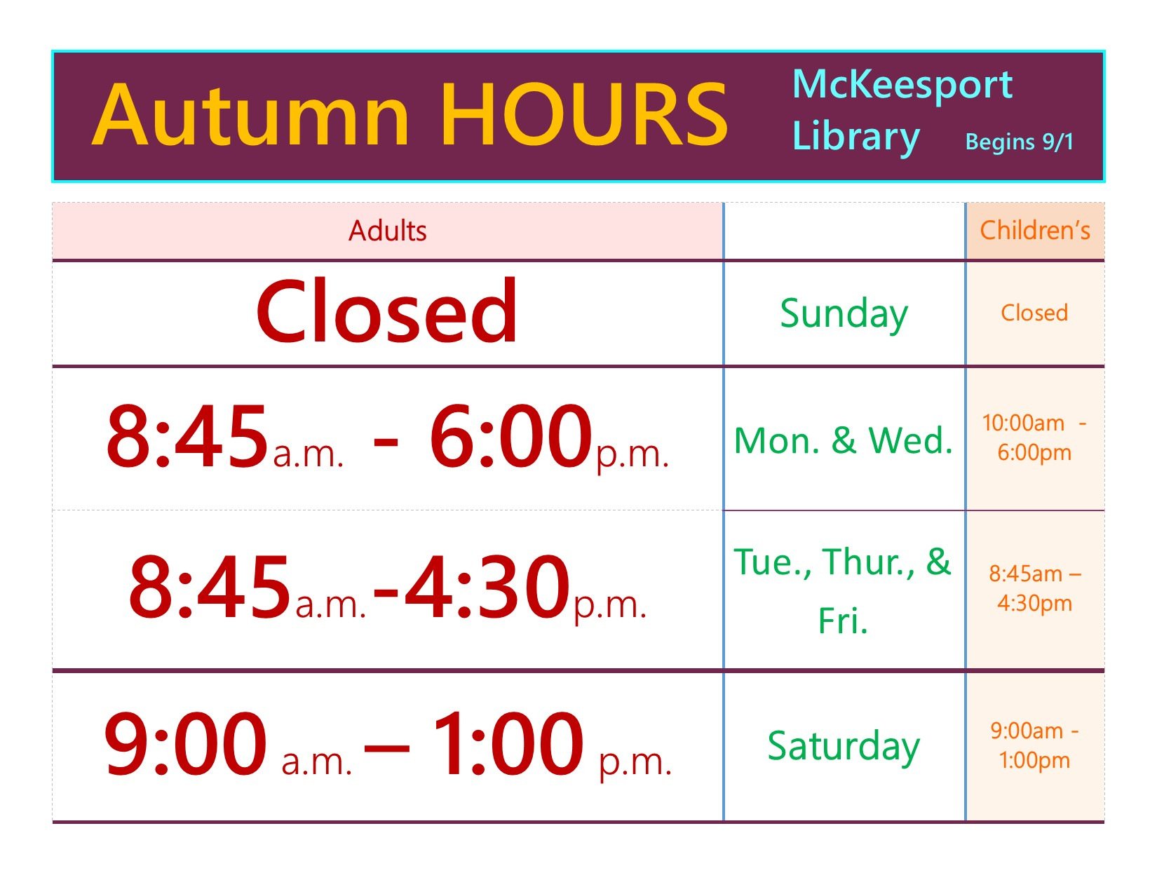 Read more about the article Autumn Hours – McKeesport